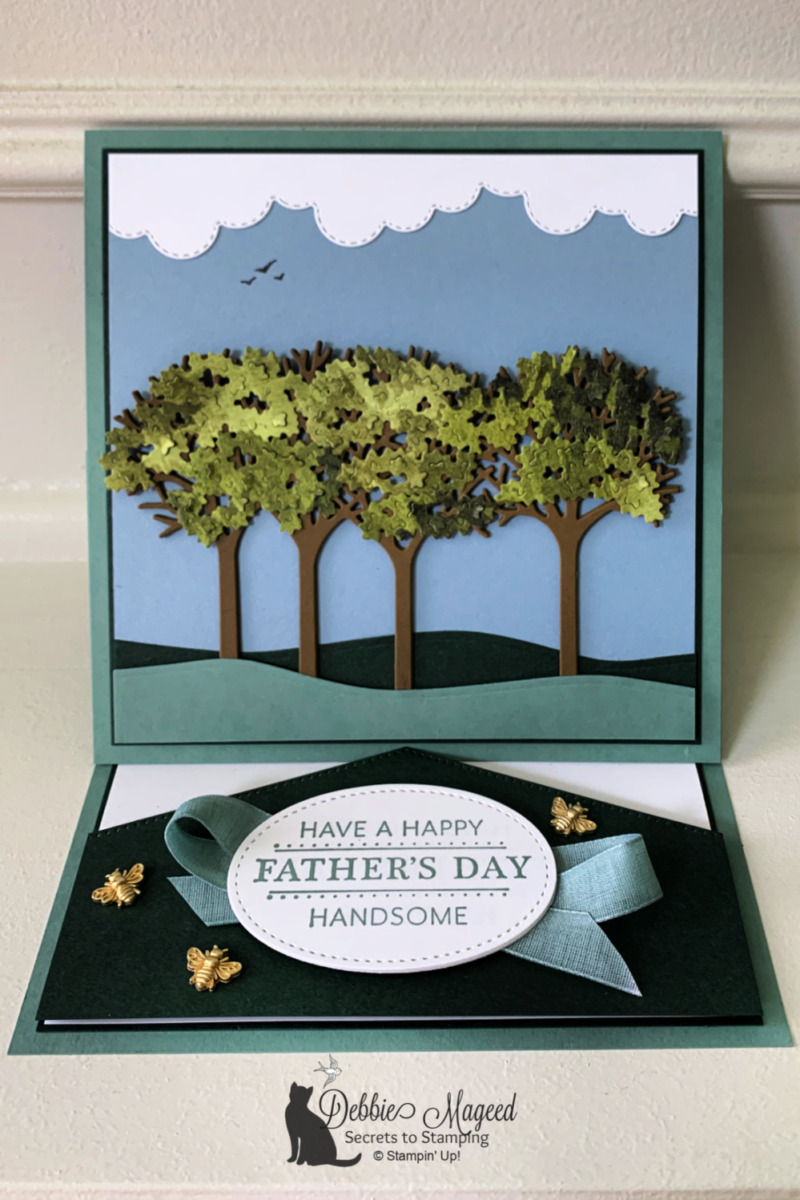 Inspiring Canopy Father\'s Day Card for the Pals Blog Hop