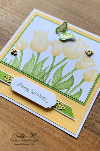 Timeless Tulips Birthday Card by Stampin' Up!