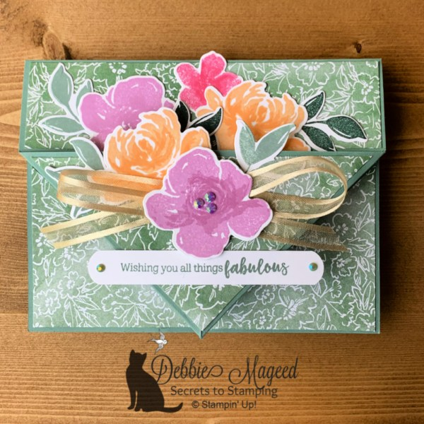 All Things Fabulous Card by Secrets To Stamping
