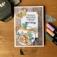 Sunny Sentiments Birthday Card for Make My Monday
