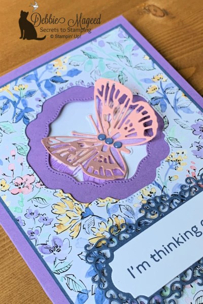 Butterfly Brilliance Pop-Up Card by Secrets To Stamping