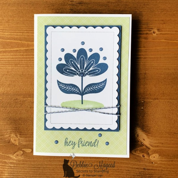 In Symmetry Friendship Card by Secrets To Stamping