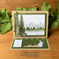 Mountain Air with Nature's Beauty Masculine Card for Make My Monday