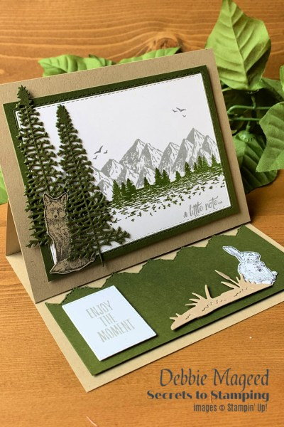 Mountain Air Masculine Card by Secrets To Stamping