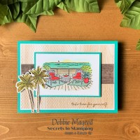Seaside View Friendship Card for the Sisterhood of Crafters