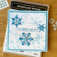Snowflake Wishes Holiday Card for the Sisterhood of Crafters
