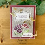 Art Gallery Birthday Card for Sisterhood of Crafters