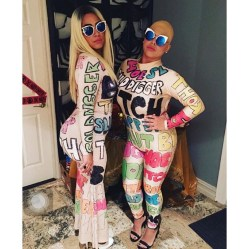 Amber Rose & Blac Chyna Awards Show Outfits