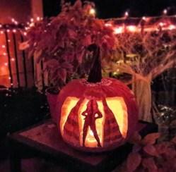 Beyonce Inspired Pumpkin