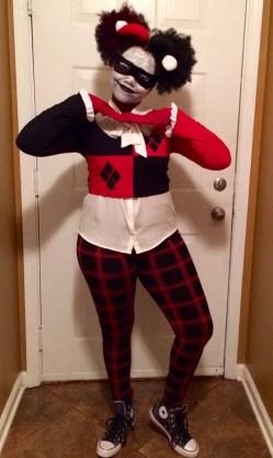 @HIFTBABG as Harley Quinn