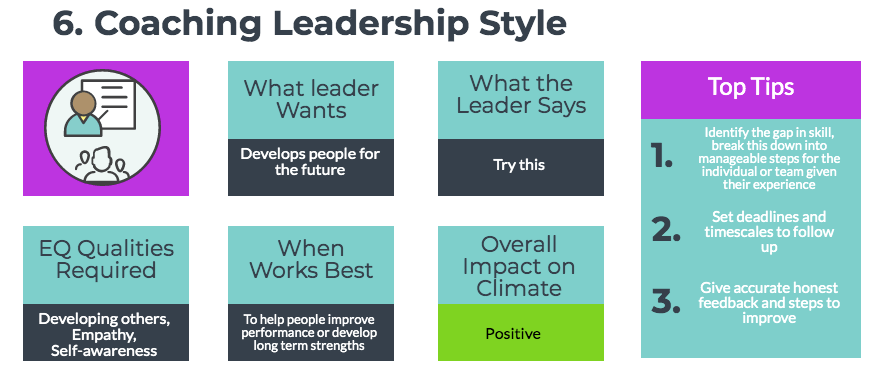 Daniel Goleman's – Coaching Leadership Style | Secrets to
