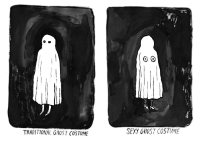 her ghost costumes