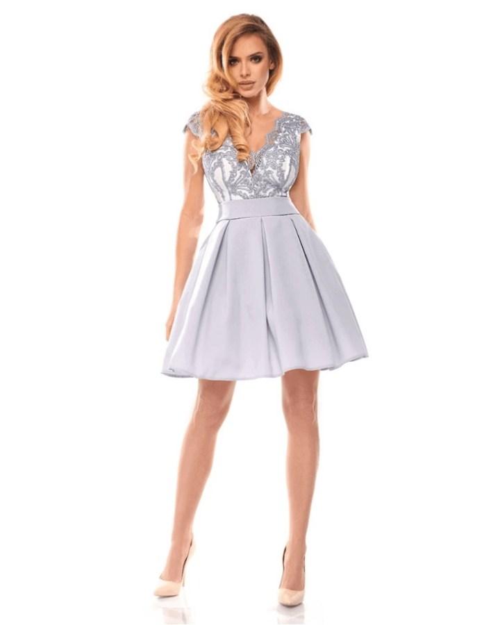 9f85b0ee3d niebieska sukienka na wesele - Secret Wish Boutique  3
