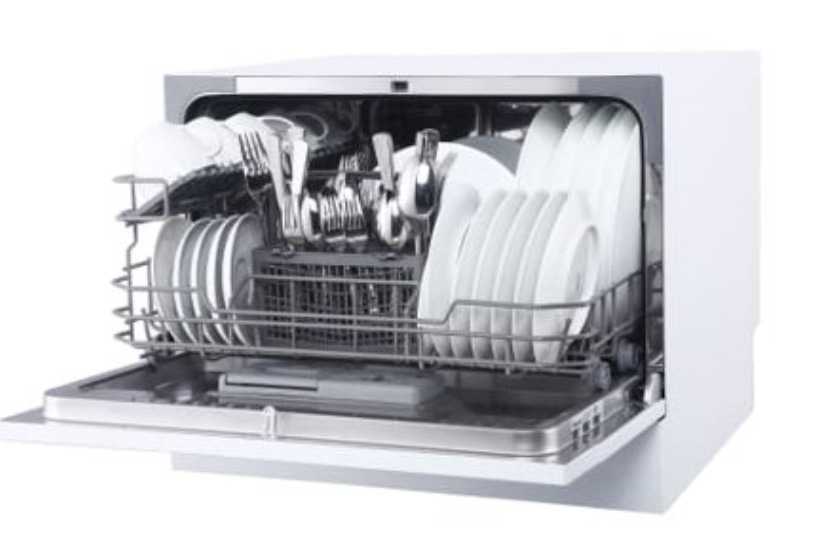 A portable Counter top dishwasher
