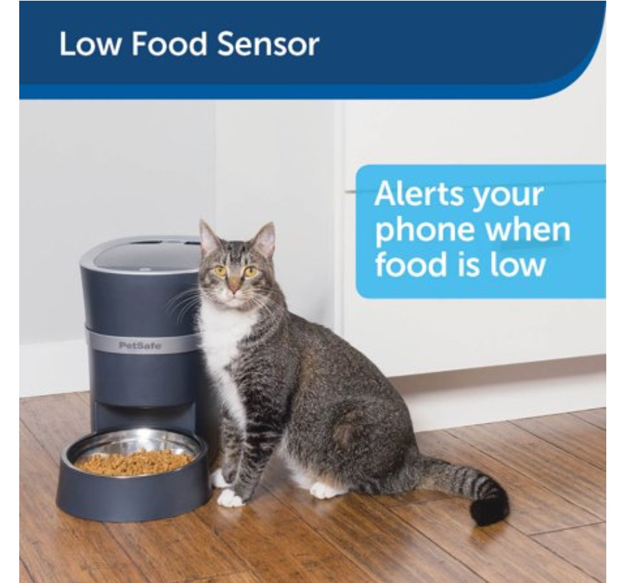 Smart Pet Gadgets: A Smart Feed Automatic portion control pet feeder
