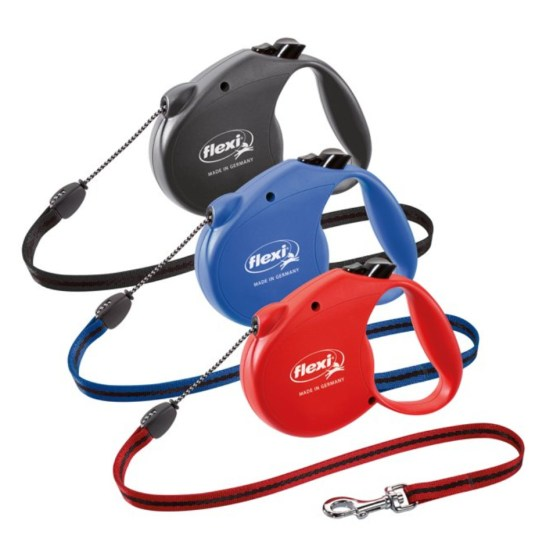Dogs Hiking Gear: flexi Retractable Dog Leash (Cord)
