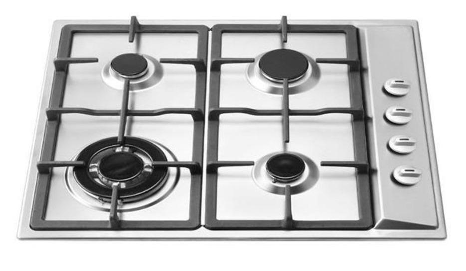 Ramblewood High Efficiency 4 Burner Natural Gas Cooktop, Sealed Burner GC4-50N