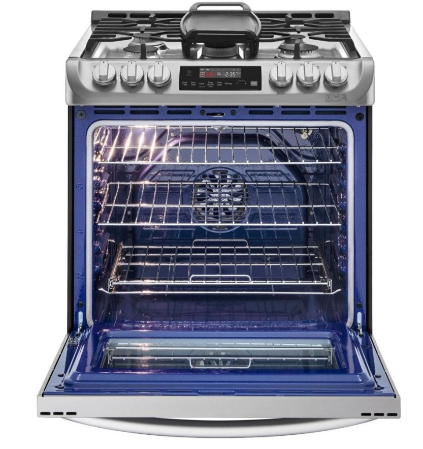 LG LSG4515ST 6.3 cu.ft. Gas Slide-in Range with ProBake Convection