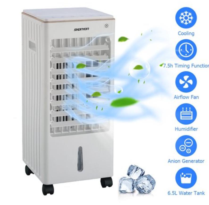 SKONYON Evaporative Air Cooler Portable Fan Conditioner Cooling