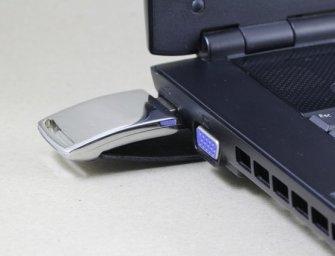 Hardware-Password-Container für die Hosentasche