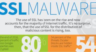 SSL verschlüsselter Traffic transportiert mehr Malware als je zuvor