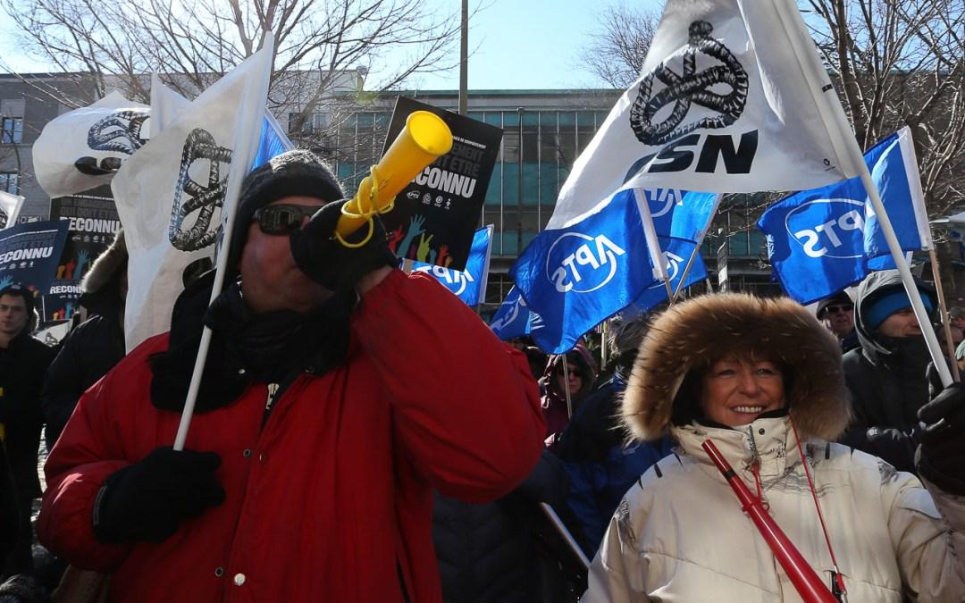 Les organisations syndicales s'unissent pour obtenir un règlement