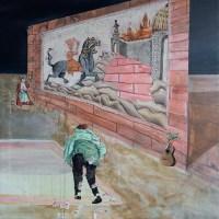 Antoine Loyer & Mégalodons malades / Bégayer, Sauce chien et la guitare au poireau (Gluck, Le Saule)