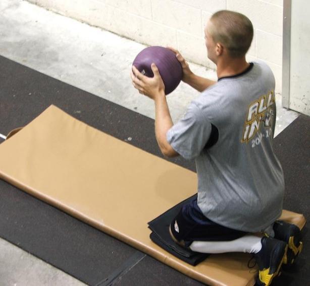 Klein – medicine ball toss