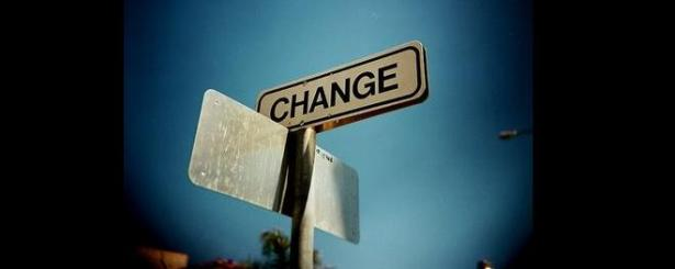change-sign-post