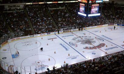 AHL All-Star Press Box View