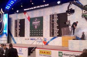 2011 Draft board