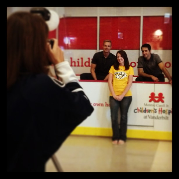 photos with Rinne and Hutton