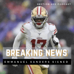 Emmanuel Sanders signed to Saints