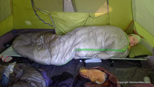 ThermaRest LuxuryLite UltraLite Cot Review  Section