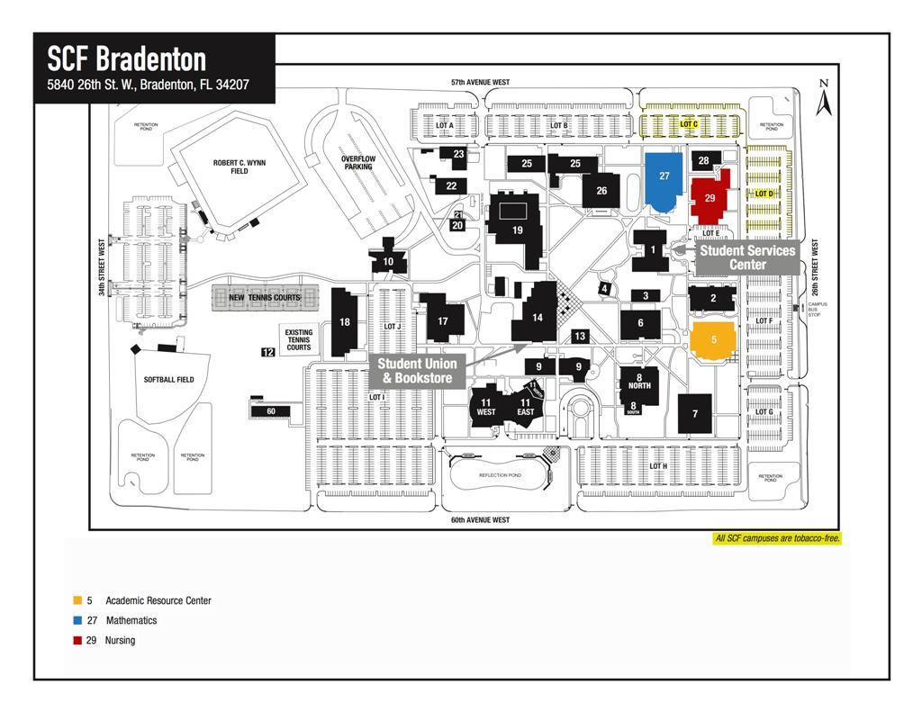 Scf Campus Map