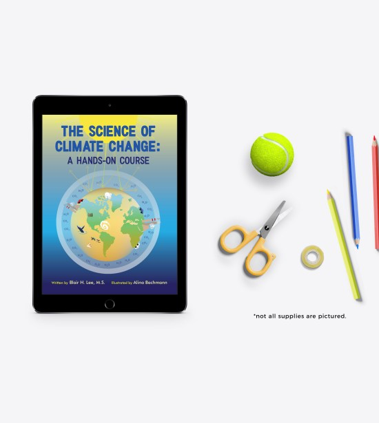 The Science of Climate Change Ebook and Supplies