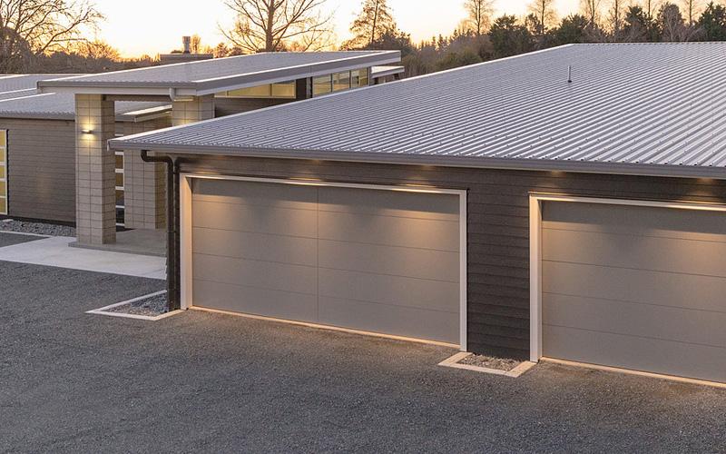 Custom Made Garage Door