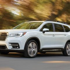 Suv With 3 Rows And Captains Chairs Cute For Kids All New 2019 Subaru Ascent Row Exterior