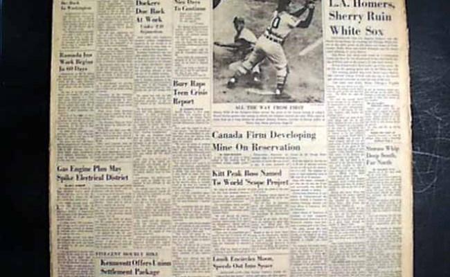Los Angeles Dodgers Wins World Series Baseball Champions