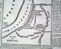 Fort Pillow, Memphis, Tennessee maps... - RareNewspapers.com