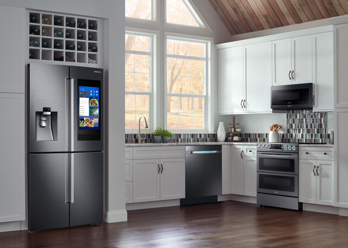 samsung kitchen package lowes pantry fall photo