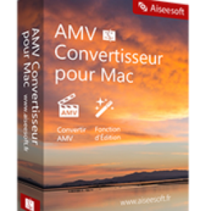 >25% Off Coupon code Aiseesoft AMV Convertisseur pour Mac