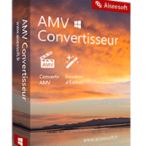 >25% Off Coupon code Aiseesoft AMV Convertisseur