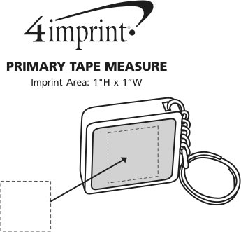 4imprint.com: Primary Tape Measure 107771