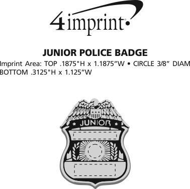 Junior Police Badge (Item No. 130351-POL) from only 69
