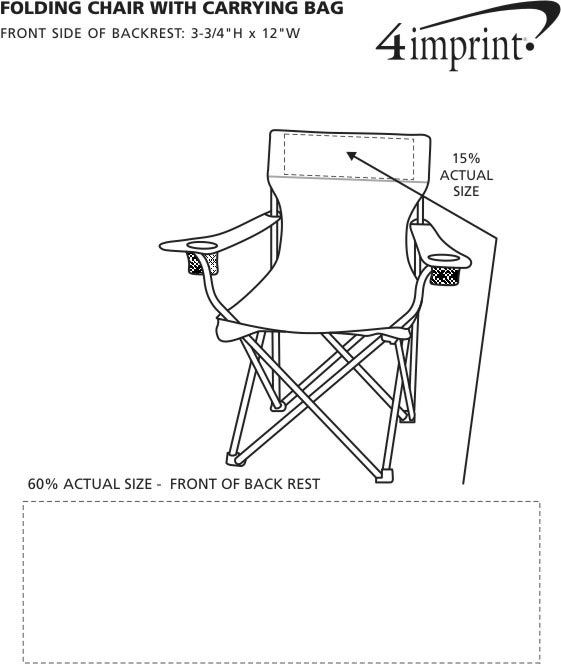 4imprint.com: Folding Chair with Carrying Bag 5648