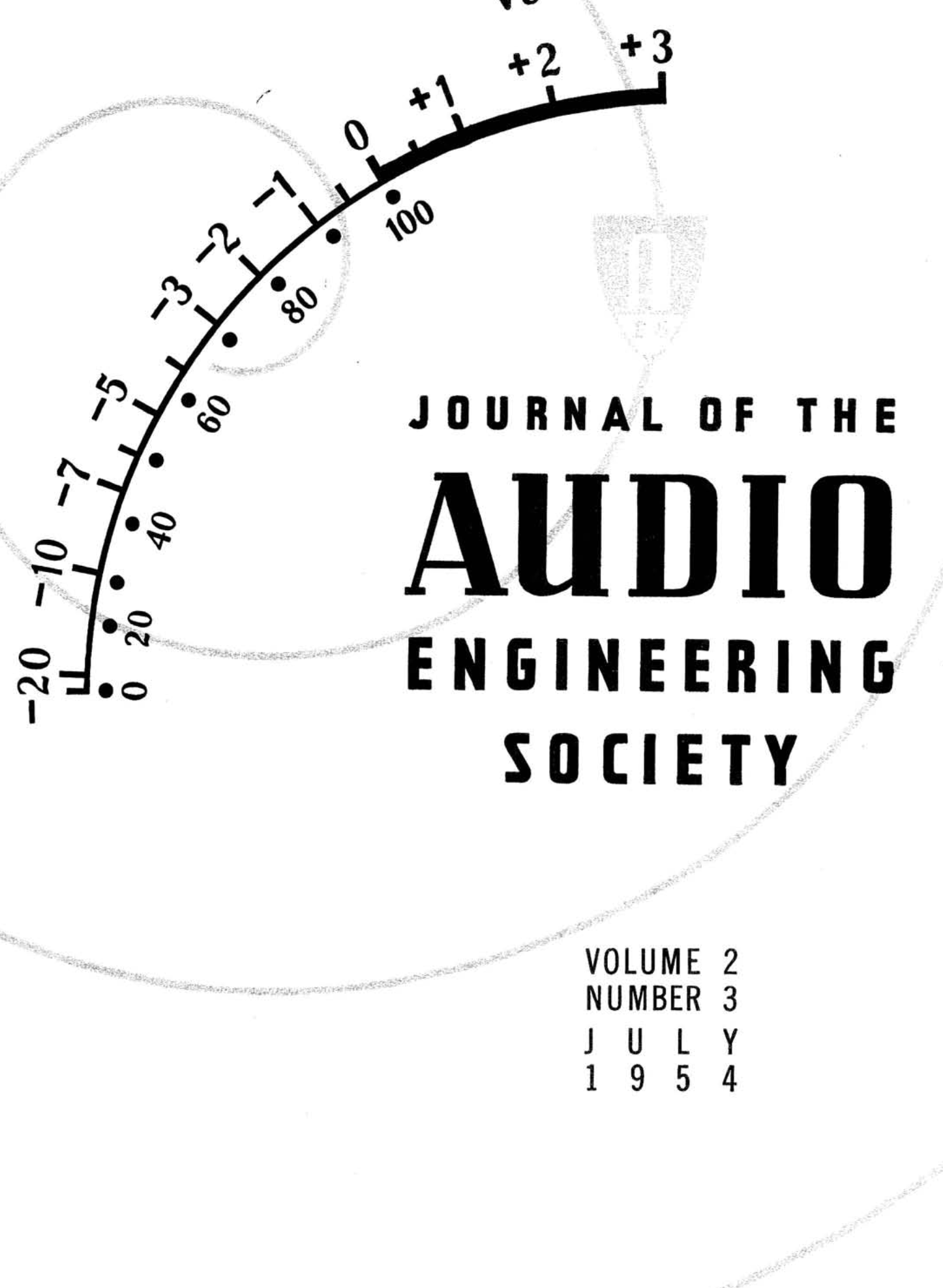 AES E-Library » Complete Journal: Volume 2 Issue 3