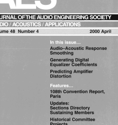 aes e library complete journal volume 48 issue 4 taylor dunn 24v wiring diagram tdet [ 2906 x 4049 Pixel ]