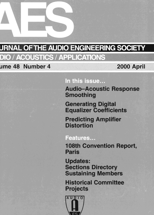 small resolution of aes e library complete journal volume 48 issue 4 taylor dunn 24v wiring diagram tdet
