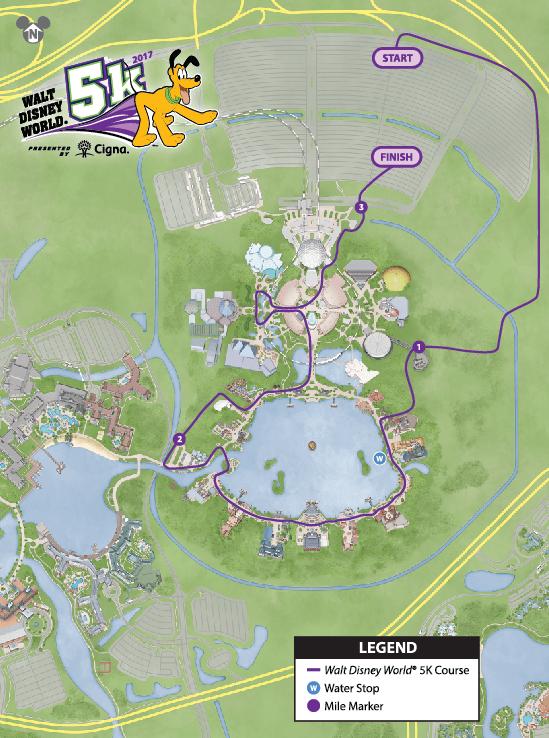 Disney Marathon Course Map 2017 : disney, marathon, course, Disney, Marathon, Course, World, Atlas